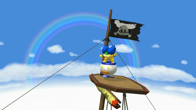 Ludwig Von Koopa Pirate Ship flag design Super Smash Bros. For Wii U