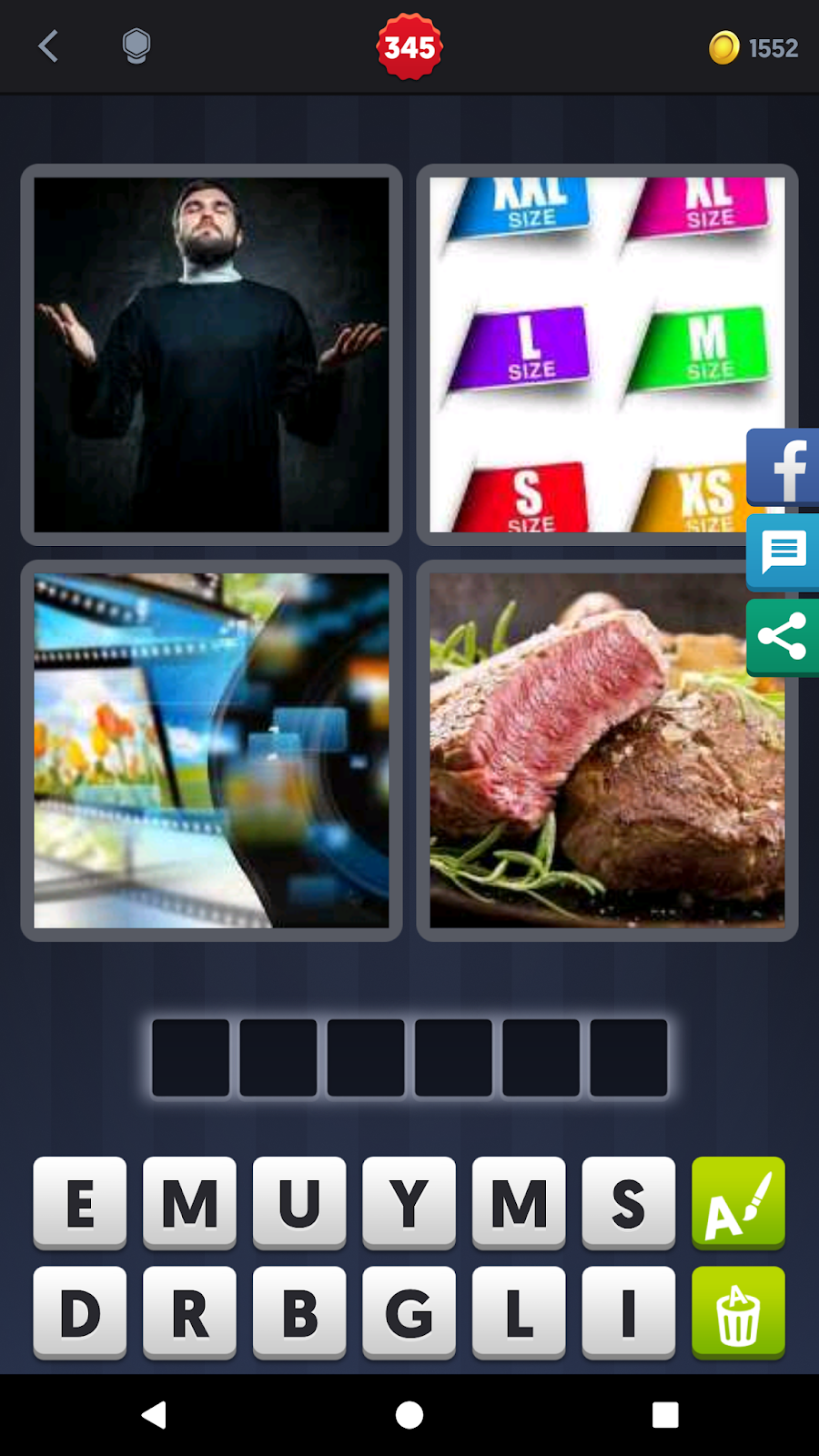 7 Letters Part 2 4 Pics 1 Word Answers