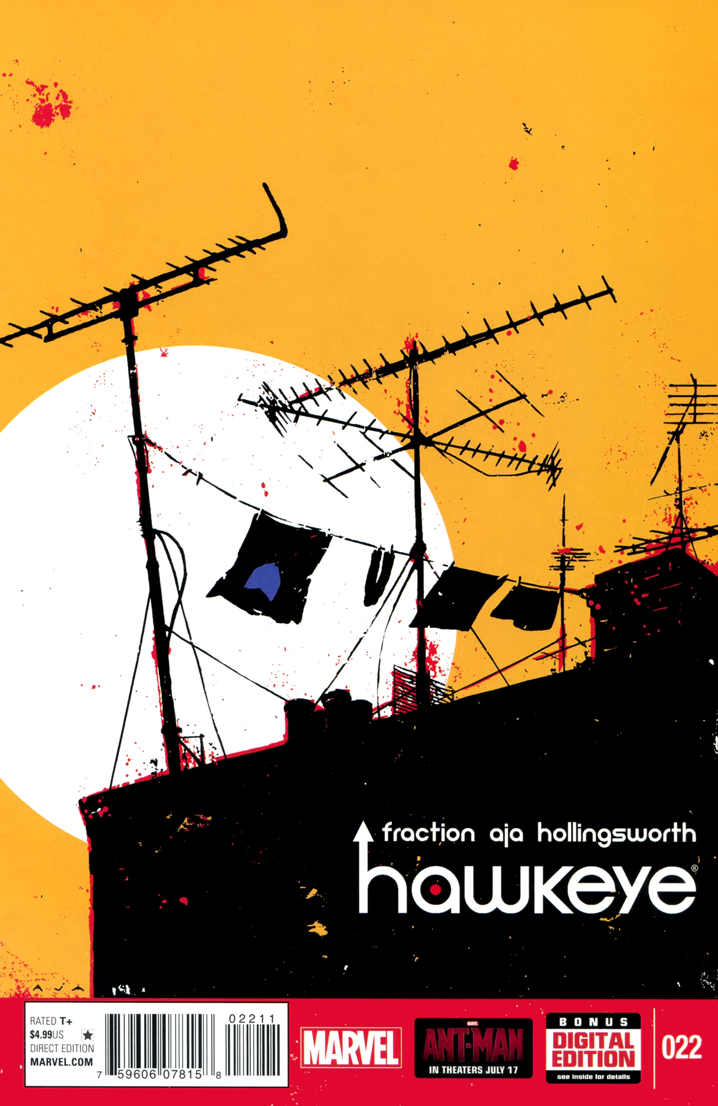Hawkeye (2012) 22 Page 1