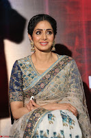 Sri Devi in designer saree stunning beauty at the launch of MOM movie Trailer~  Exclusive 013.JPG