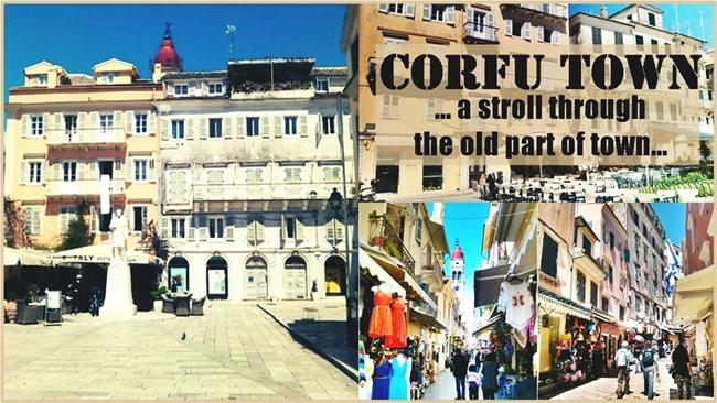 Corfu town video Grad Krf video