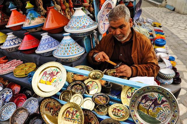 突尼西亞, tunisia, 開羅安, 市集, Kairouan market