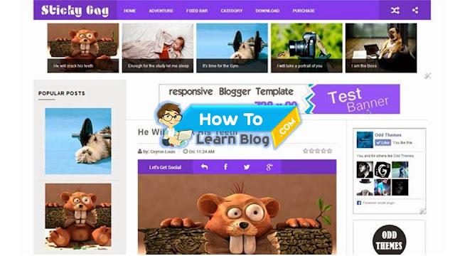 Sticky gag responsive free blogger template download sticky gag responsive free blogger template maxwellsz
