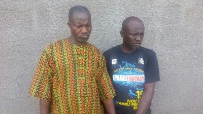 Suspected ritualists arrested as security men raid den in Ogun State (Photo)