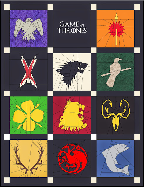 Game of Thrones quilt