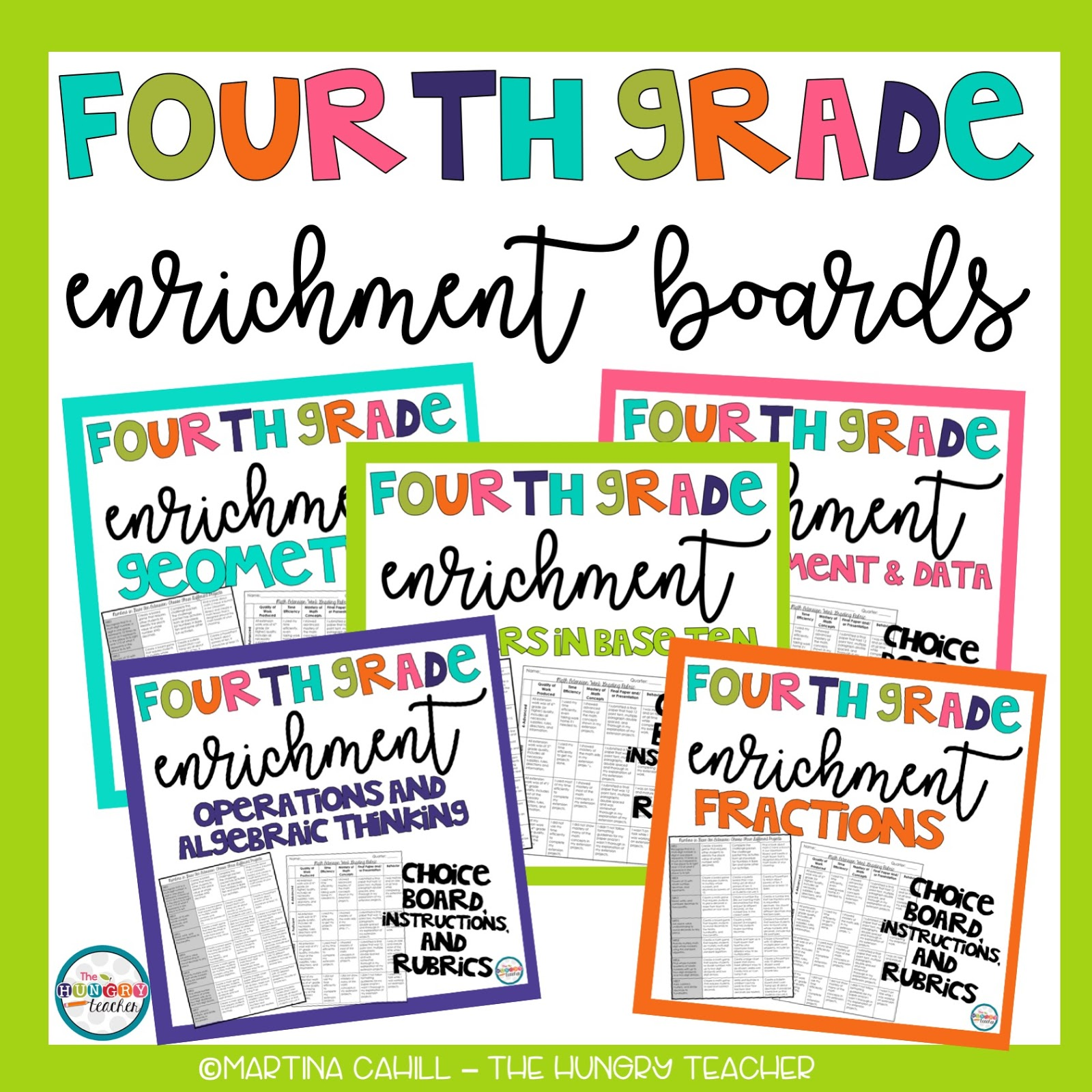Math Enrichment in Upper Elementary {Third, Fourth, Fifth, and Sixth ...