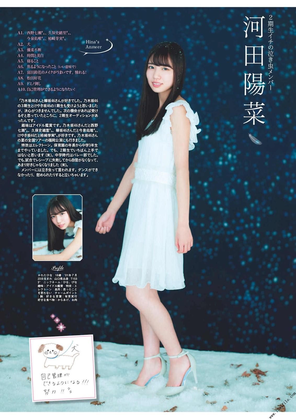 Hiragana Keyakizaka46, FLASHスペシャルグラビアBEST 2018新春号