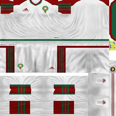 Morocco kits 2013 pes6 crack