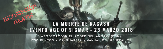 Evento Age of Sigmar Barcelona