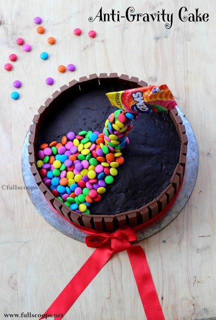 Anti - Gravity Cake
