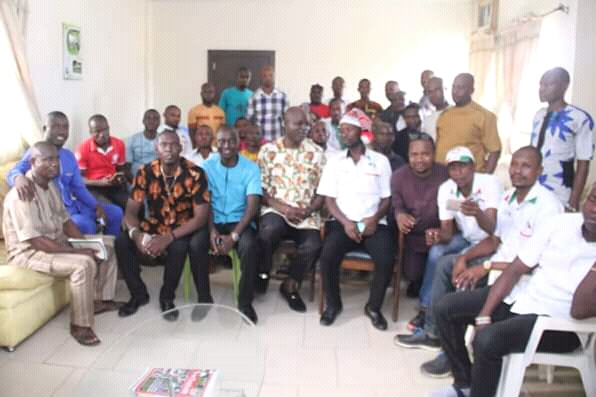 Make yourselves catalysts for the development of Abia, @JohnOkiyiKalu tells Abia Youths