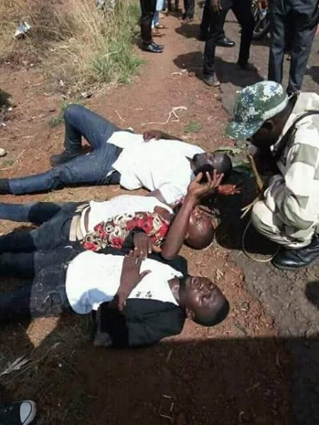 Soldiers Arrest Political Thugs With Guns In Kogi State