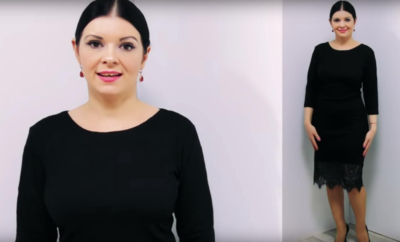 df9522b4769 Мастера и умники  Как сшить черное платье без выкройки на любую фигуру
