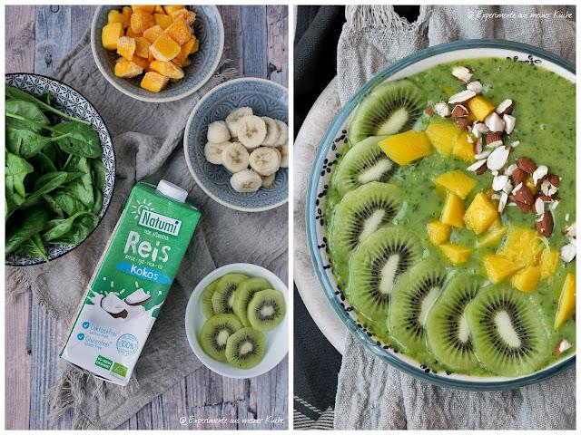 Grüne Smoothie-Bowl | Rezept | Frühstück