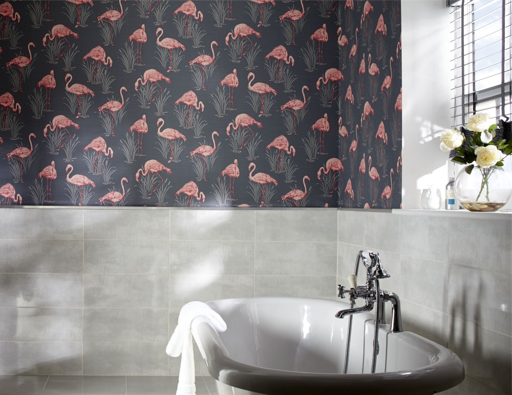 Flamingos In The Bathroom Emily May