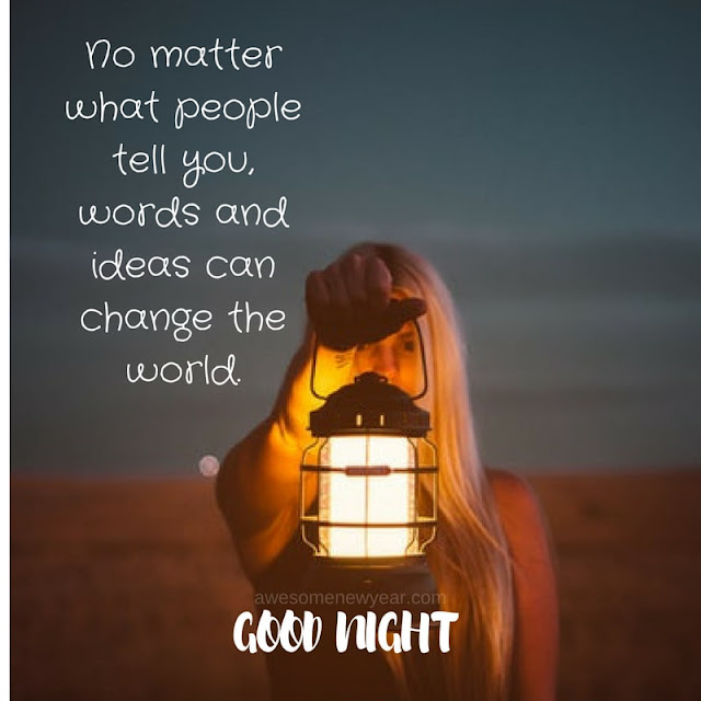 good night sayings