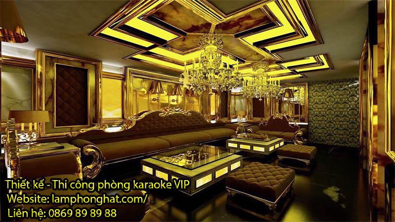 Mẫu phòng karaoke phong cách tân cổ điển 03