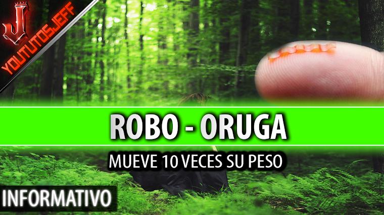 Robo-oruga mueve objetos 10 veces más grandes que ella | 2016