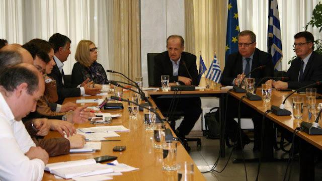 Συνάντηση εργασίας για την αντιμετώπιση των προβλημάτων στις παραλίες της Αν. Μακεδονίας - Θράκης