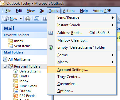 Ideaz Computer Tips: Configure Gmail Accounts in Outlook