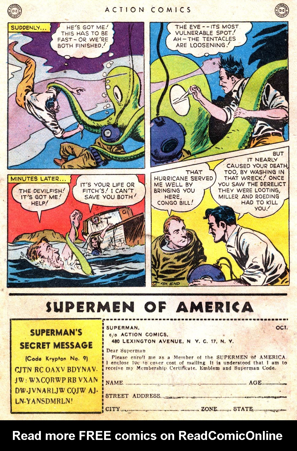 Read online Action Comics (1938) comic -  Issue #101 - 22