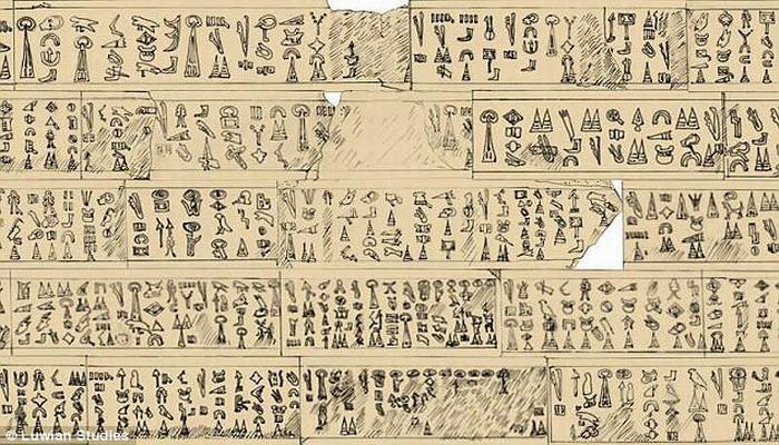 """Investigadores logran decodificar una antigua tablilla que habla de """"la misteriosa gente del mar y un príncipe troyano"""""""