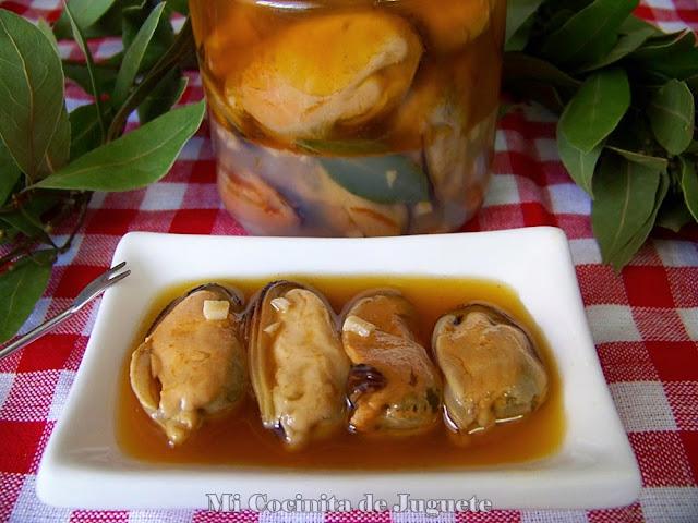 Mejillones en Escabeche Caseros