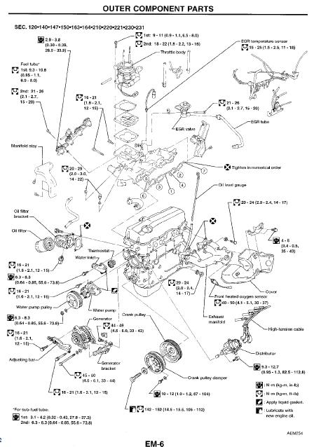 97 nissan altima engine diagram 97 nissan pickup engine diagram 07 nissan altima engine diagram