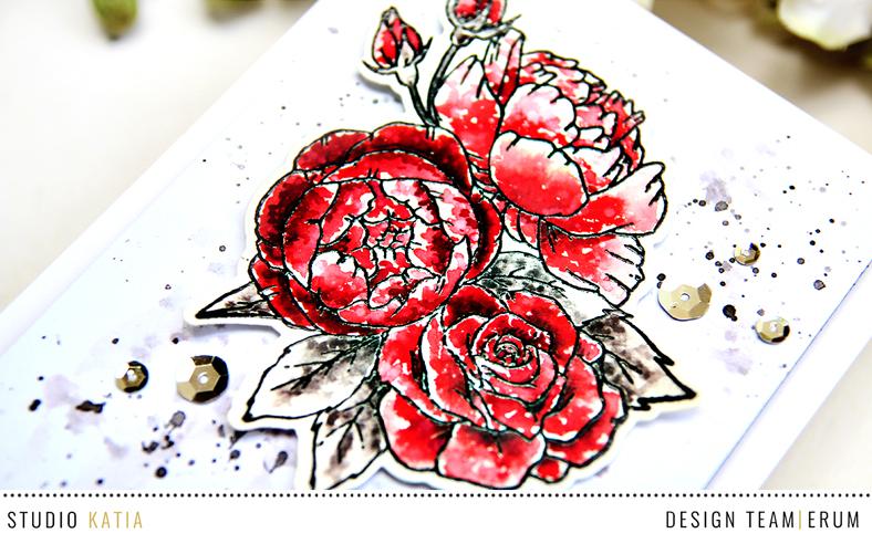 Studio Katia Spring Bouquet Stamp Set | Erum Tasneem | @pr0digy0