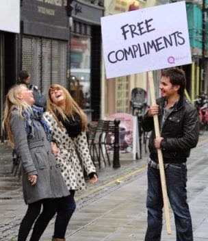 Man Complimenting Woman - 3 compliments that apply to every girl out there!
