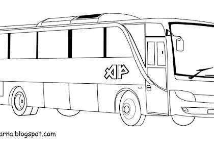 Mewarnai Gambar Bus Kota