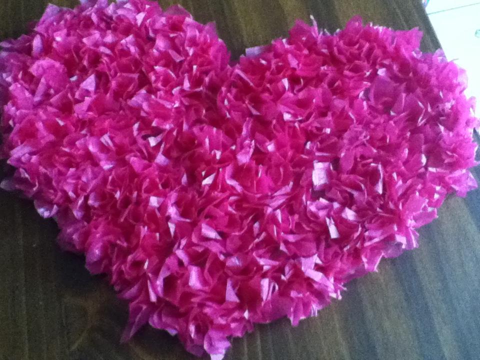 Recoveko proyecto del dia como hacer corazones con for Como decorar el cuarto de mi hija