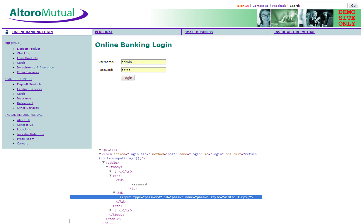 Trying to hack input type password | Secure yourself!!