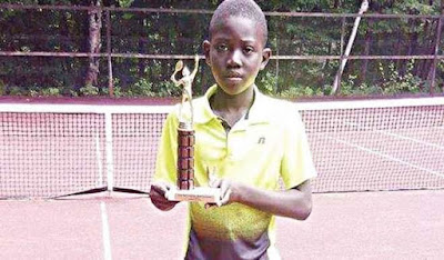 Nigeria's teen tennis star beats 10 Americans to win Baco Junior Tournament