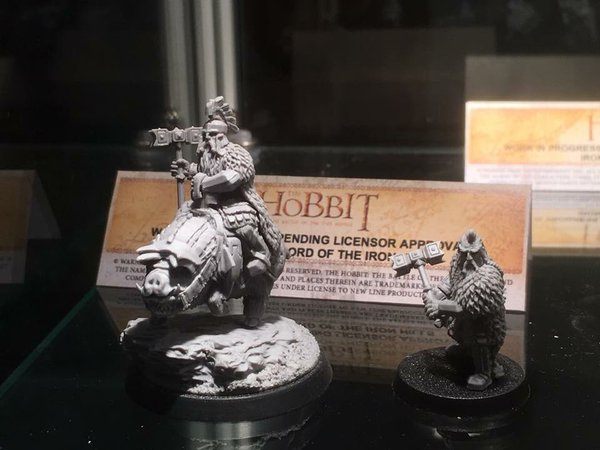 Games Workshop - The Hobbit - Dain, Lord of the Iron Hills