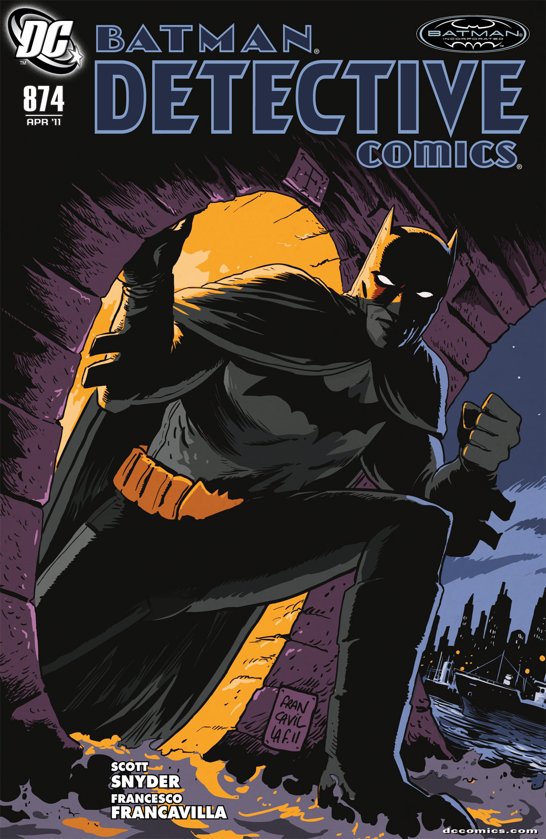 Detective Comics (1937) 874 Page 0