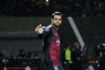 Gleeson, Timbers, goalkeeper