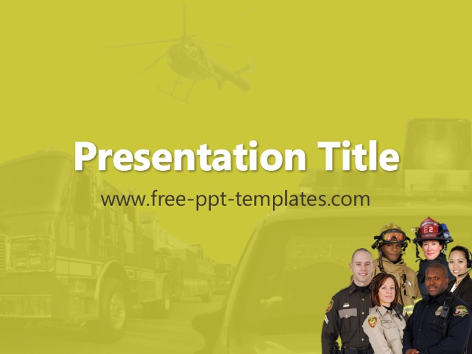Public Safety Ppt Template
