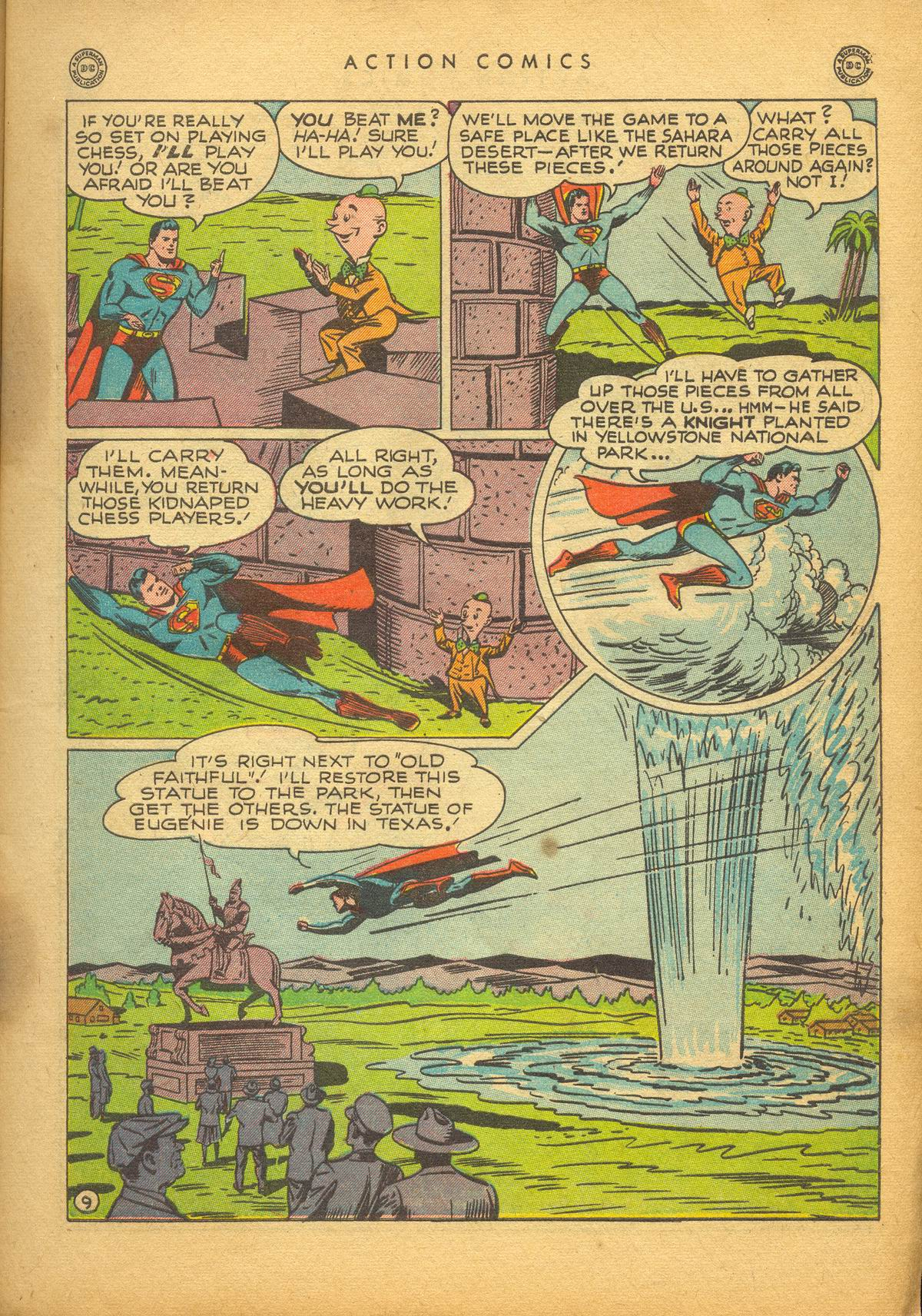 Read online Action Comics (1938) comic -  Issue #112 - 11