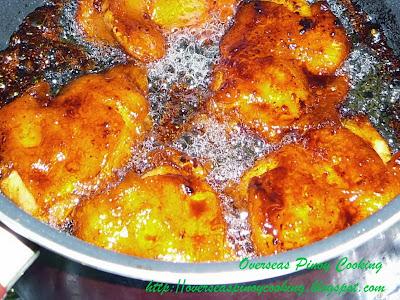 Chicken Tocino - Cooking Procedure