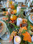 Autumn in the Mountains Tablescape