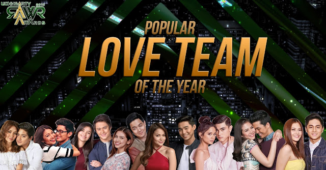 VOTE: Popular Love Team of the Year