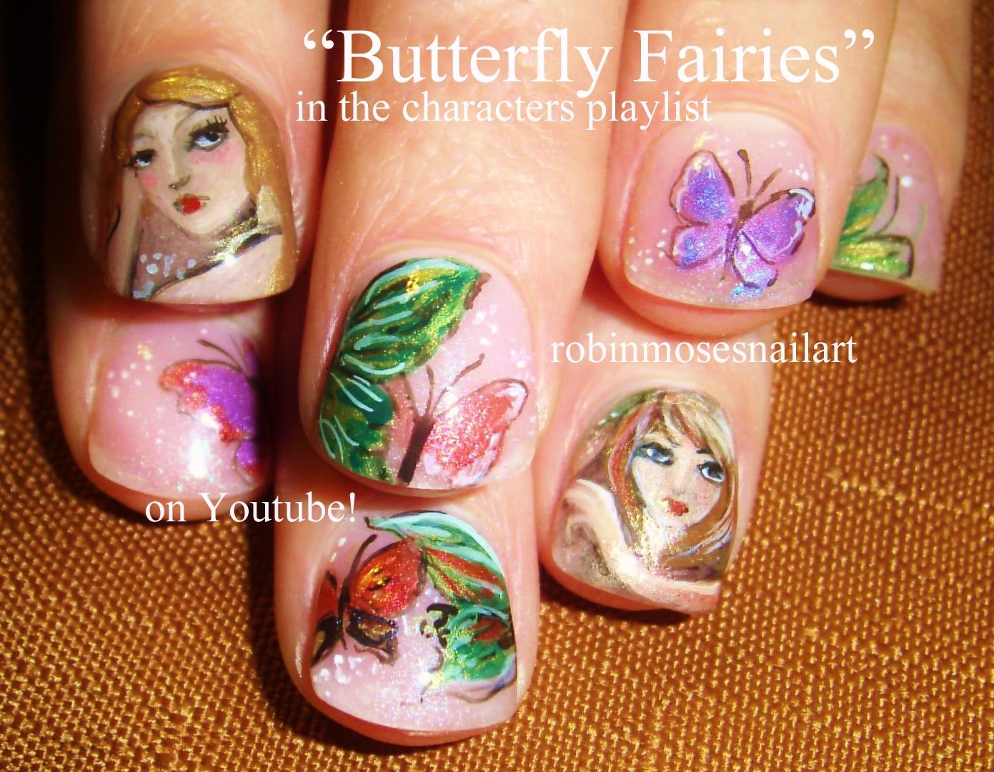 "Robin Moses Nail Art: Fairy Nail Art ""fairy nails"" ""faerie ..."