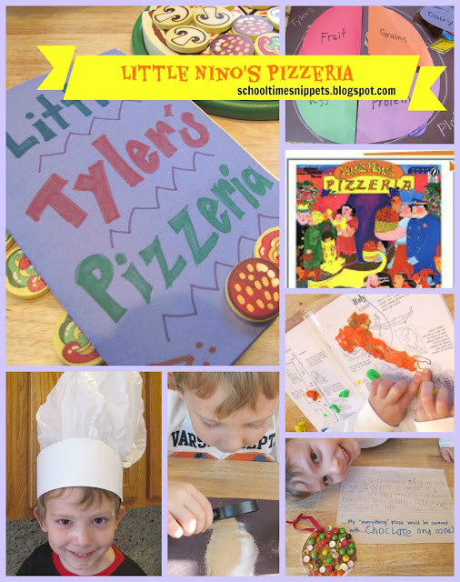 Little Nino's Pizzeria Go Along Activities