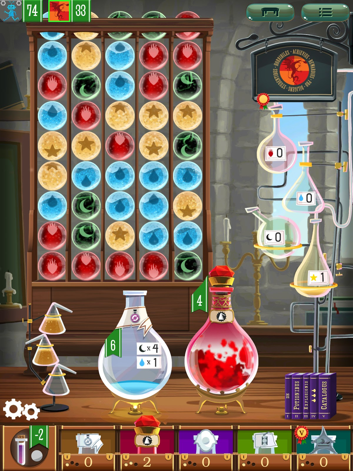Potion Explosion app review love potion
