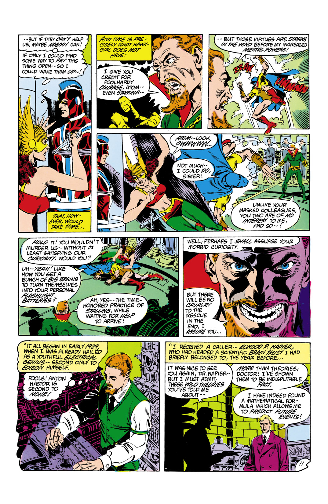Read online All-Star Squadron comic -  Issue #12 - 12