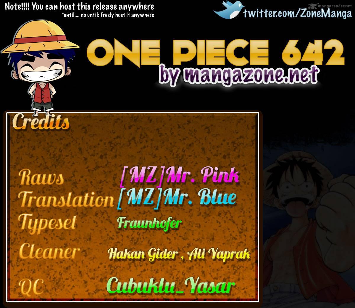 One Piece 642