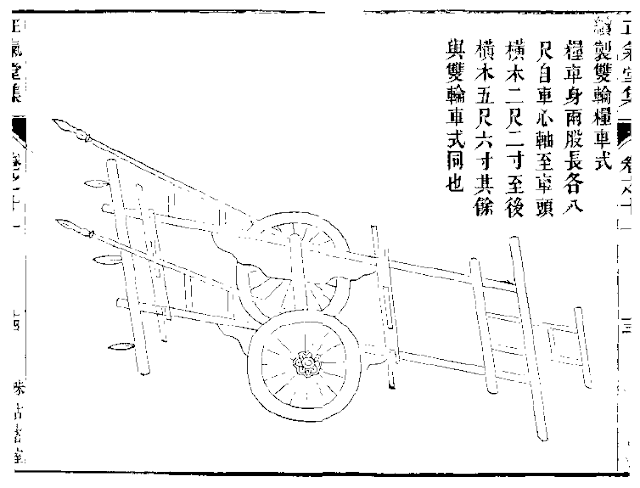 Ming Dynasty Supply Wagon