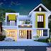 Cute and dream Kerala home design 1600 sq-ft