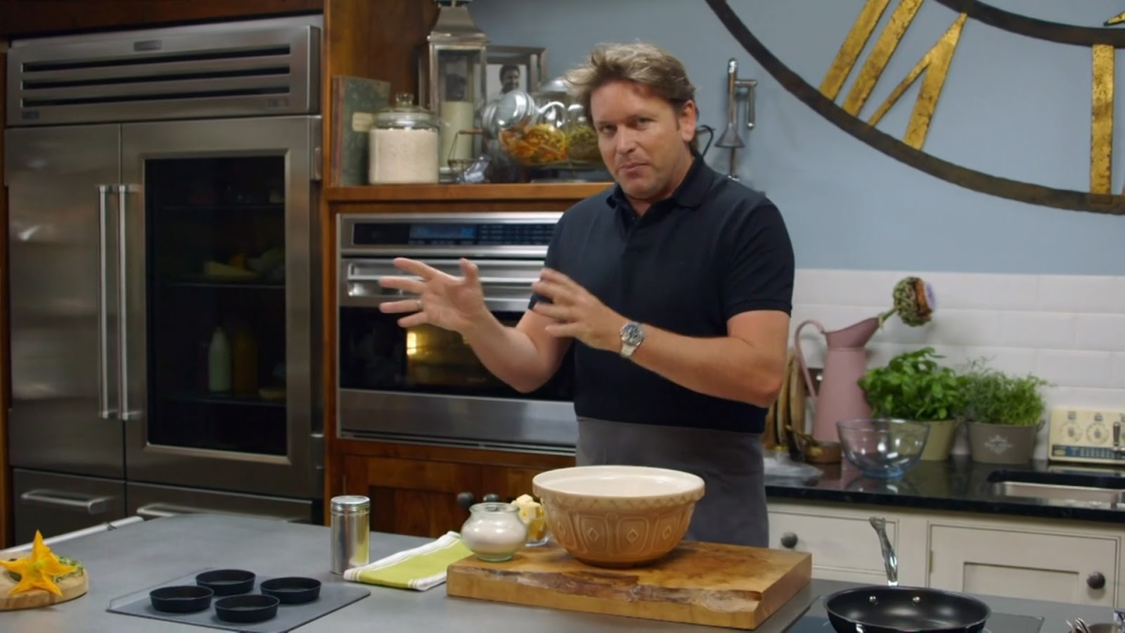james martin home comforts grub on the go video clump gardening cooking videos. Black Bedroom Furniture Sets. Home Design Ideas
